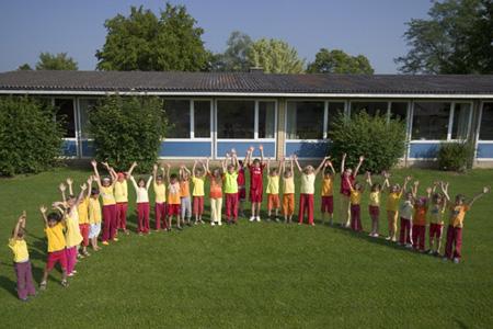Büsingens Grundschüler