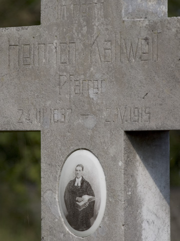 Pfarrer Kallweits Grab
