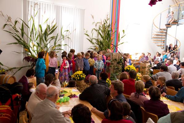 Kinder des Kindergarten Büsingen